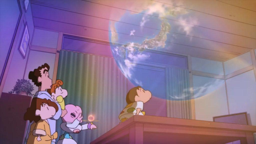 shin - cậu bé bút chì: cuộc xâm lăng của người ngoài hành tinh shiriri