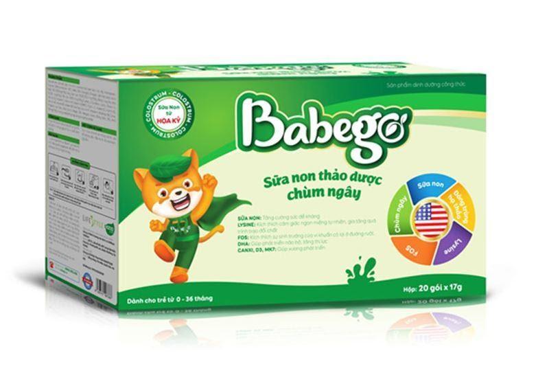sữa babego giá bao nhiêu